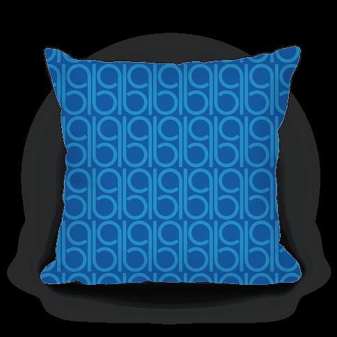 Blue Retro Pattern