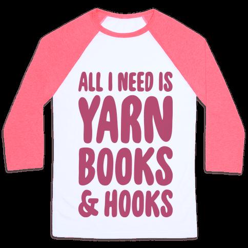 Yarn, Books, And Hooks