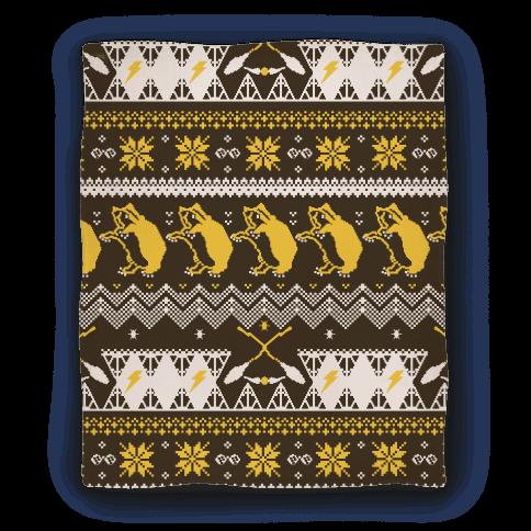 Hogwarts Ugly Christmas Sweater Pattern: Hufflepuff