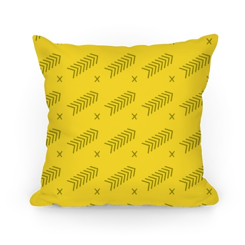 Yellow Abstract Chevron Pattern
