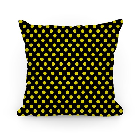 Hufflepuff House Polka Dot Pattern
