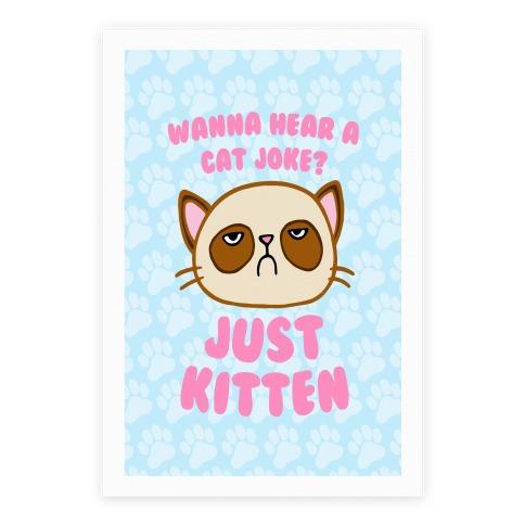 Wanna Hear A Cat Joke? Just Kitten