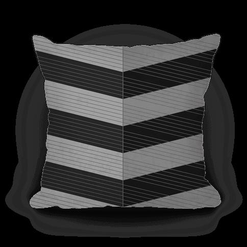 Stripes on Stripes Pattern (Black)
