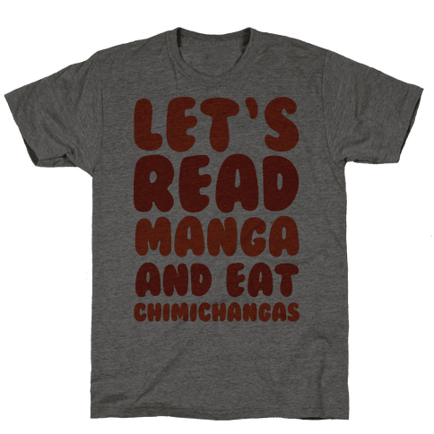 Let's Read Manga and Eat Chimichangas