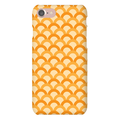 Orange Scale Pattern