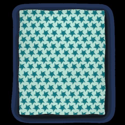 Teal Star Pattern