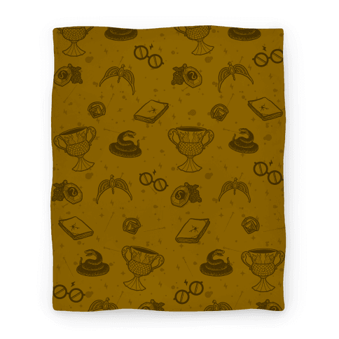 Horcrux Pattern (Hufflepuff Colors)