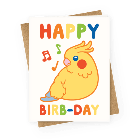 Happy Birb-day