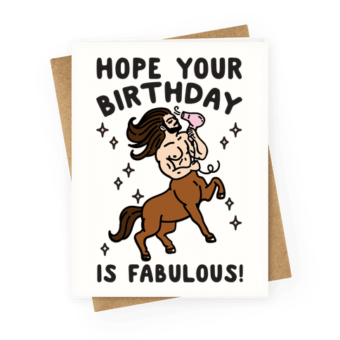 Hope Your Birthday Is Fabulous
