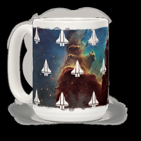 Eagle Nebula Space Race (Alternate)