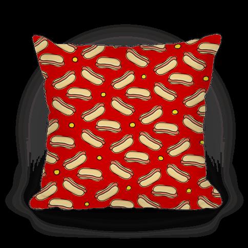 Red Hot Dog Pattern