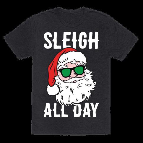 Sleigh All Day Santa (White)