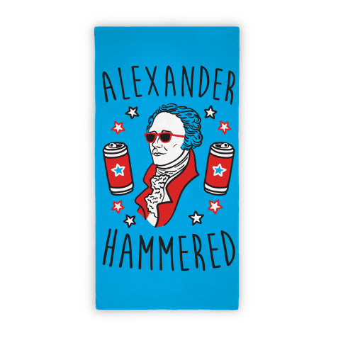 Alexander Hammered (Towel)