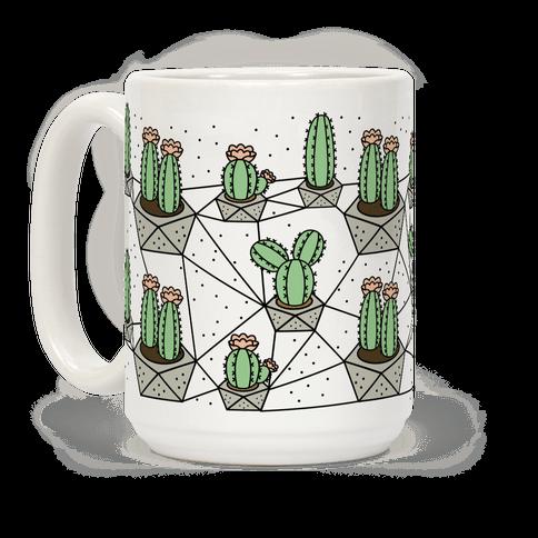 Cactus Geometric Pattern