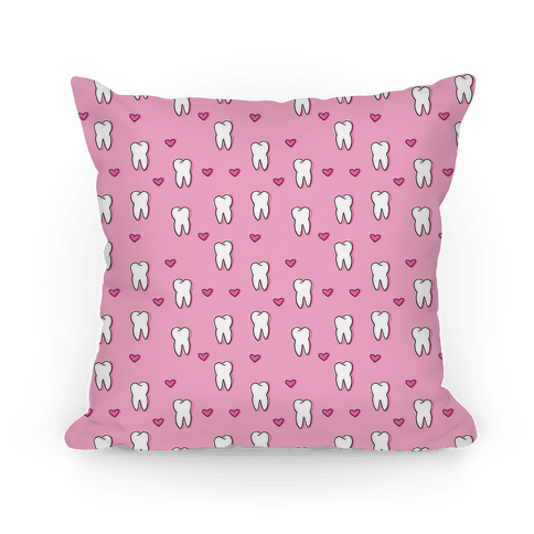 Pink Tooth Pattern