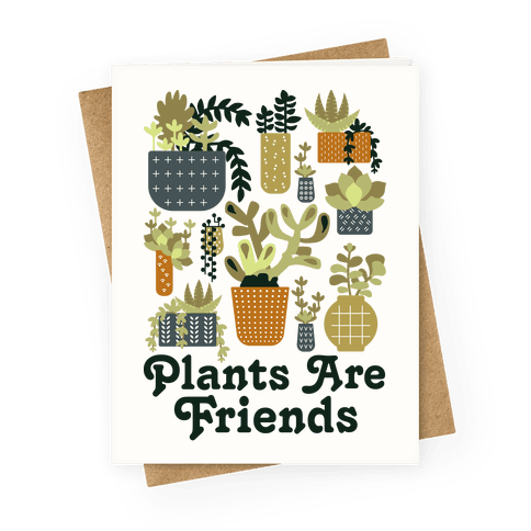 Plants are Friends