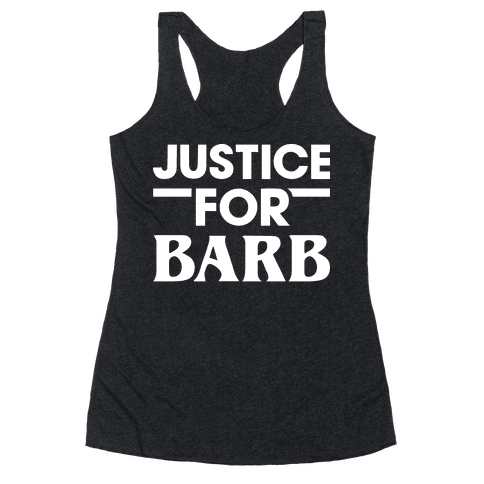 Justice For Barb (White)