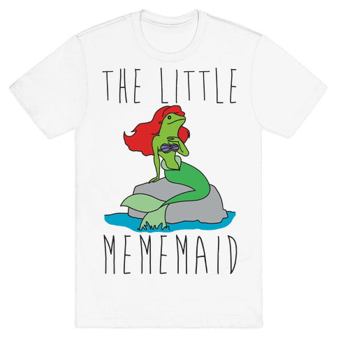 The Little Mememaid Parody