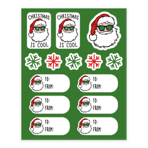 Christmas Is Cool Gift Tags