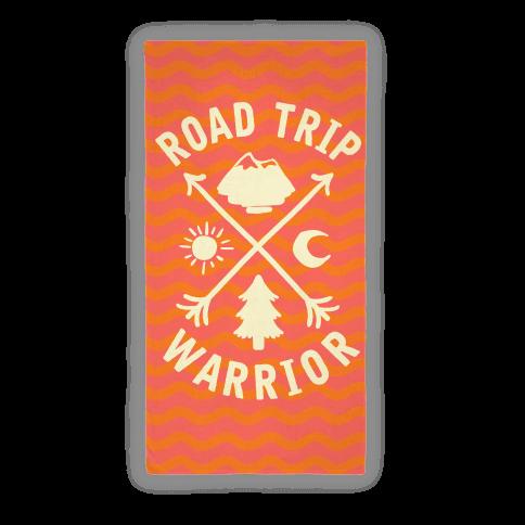Road Trip Warrior Beach Towel