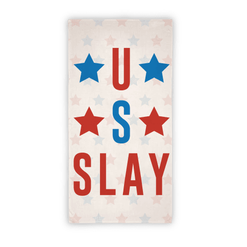 U S Slay Beach Towel