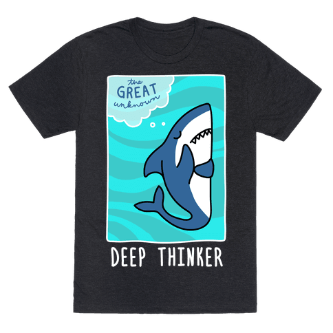 Deep Thinker Shark (White)
