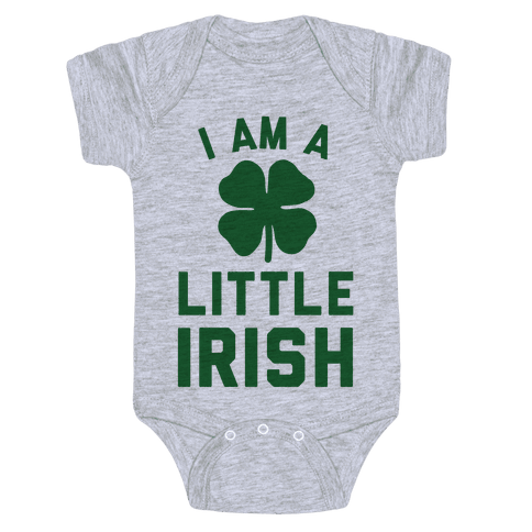 I Am A Little Irish