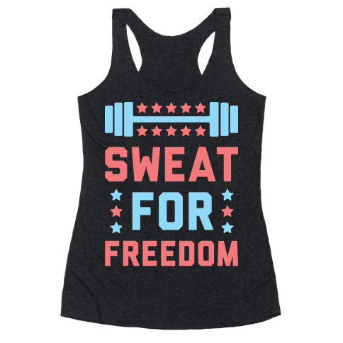 Sweat For Freedom (White)
