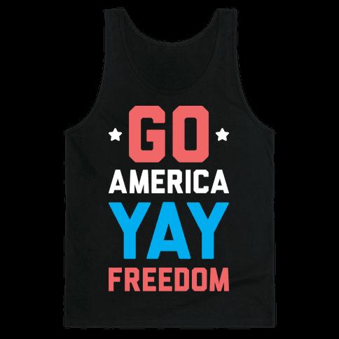 Go America Yay Freedom (White)