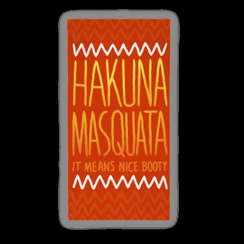 Hakuna Masquata Parody Towel