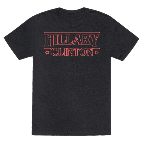 Hillary Clinton Things Parody (Red)