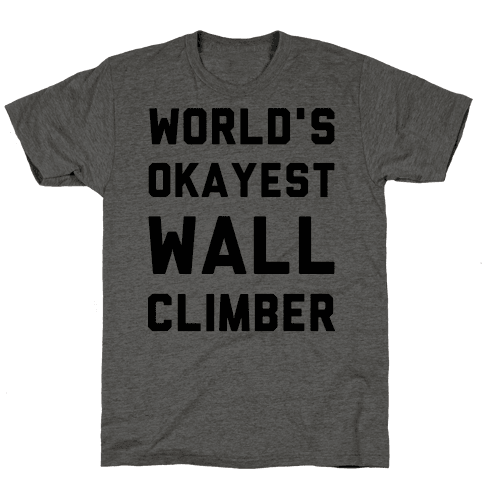 World's Okayest Wall Climber