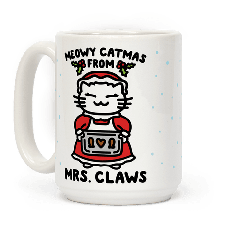 Meowy Catmas From Mrs. Claws