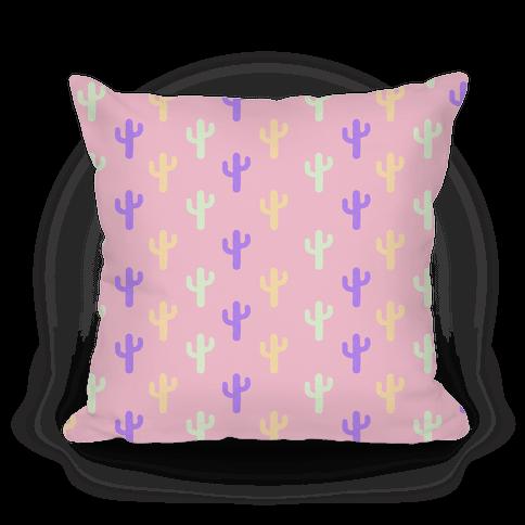 Pastel Cactus Pattern.