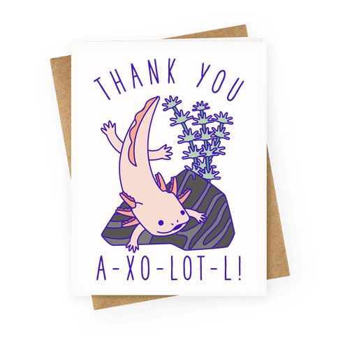 Thank You A-xo-lot-l