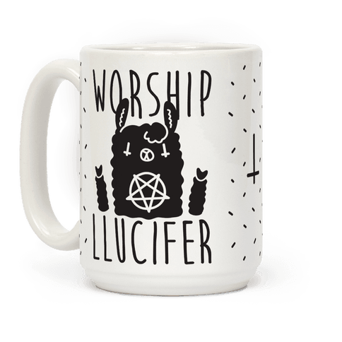 Worship Llucifer Llama
