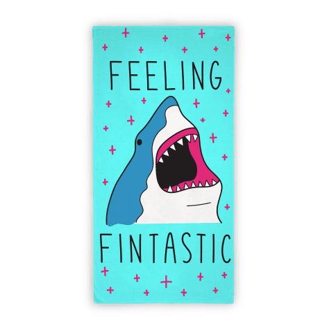 Feeling Fintastic (Towel)