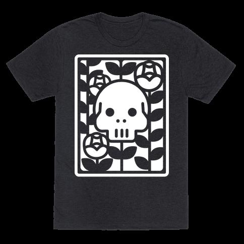 Flower Skull White