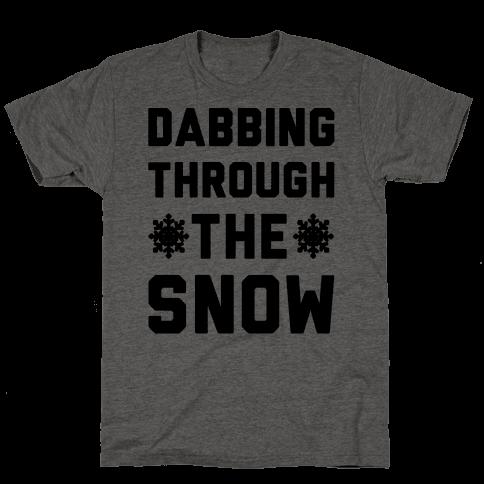 Dabbing Through The Snow