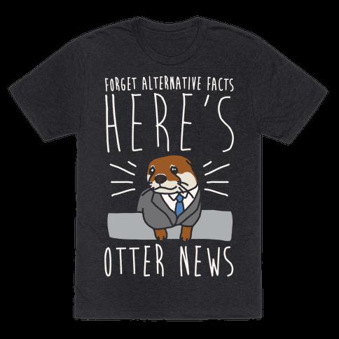 Otter News White Font