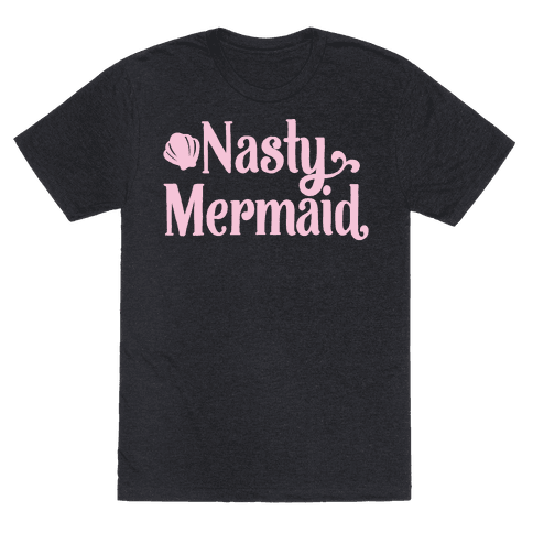Nasty Woman Mermaid Parody White Print