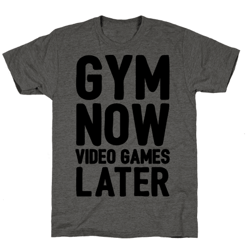 Gym Now Video Games Later