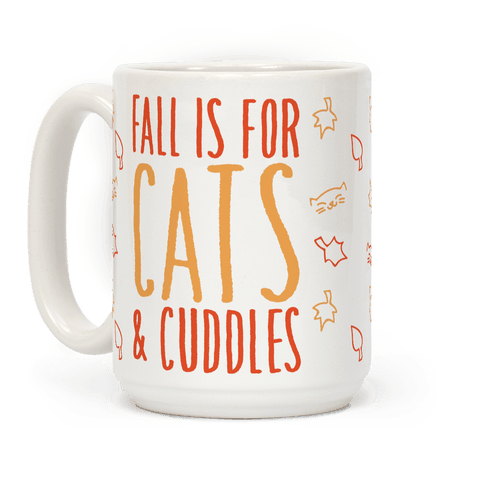 Fall Is For Cats and Cuddles