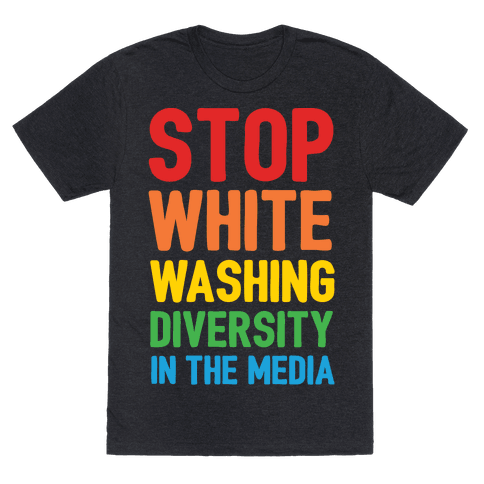 Stop Whitewashing Diversity In The Media White Print