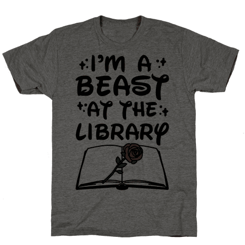 I'm A Beast At The Library Parody