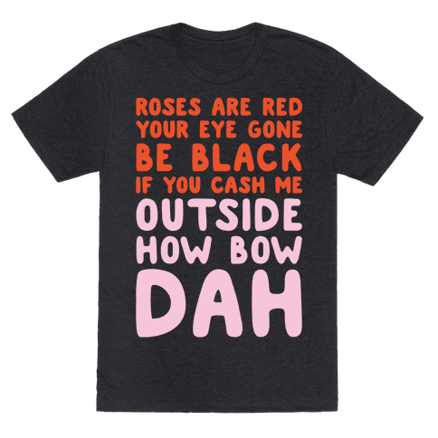 Cash Me Outside How Bout Day Valentine White Print