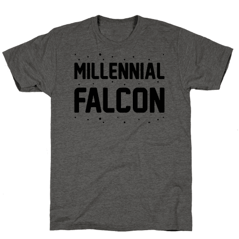 Millennial Falcon Parody