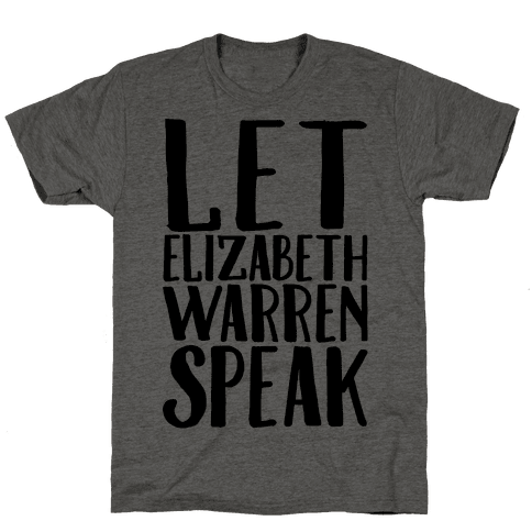 Let Elizabeth Warren Speak