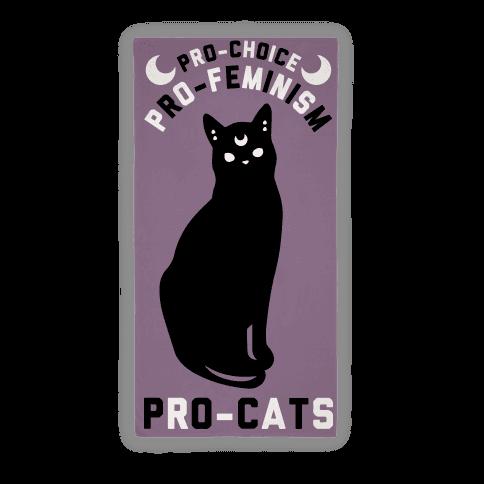 PRO-FEMINISM Pro-Cats Towel