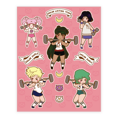 Outer Senshi Lifting Team